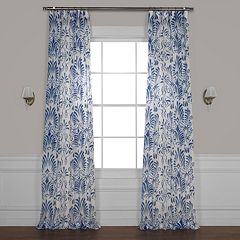 EFF Xenia Printed Sheer Window Curtain