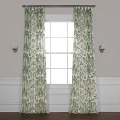 EFF Xenia Printed Sheer Window Curtain