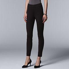 Women's Simply Vera Vera Wang Everyday Luxury Pull-On Ponte Skinny Pants