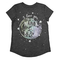 63d7f999c Girls Grey Graphic T-Shirts Kids Tops & Tees - Tops, Clothing | Kohl's