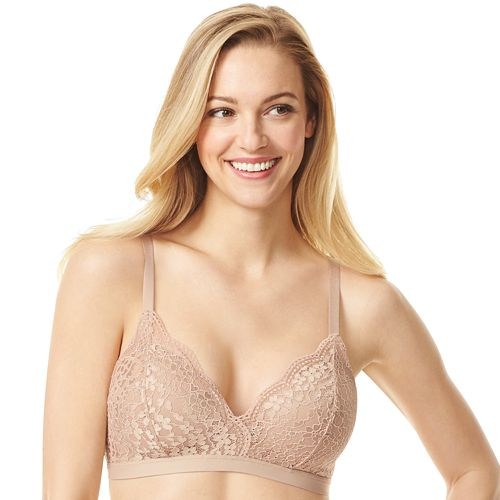 0d80faae99 Women s Warner s Lace Escape Wire-Free Contour Bra RO3301A