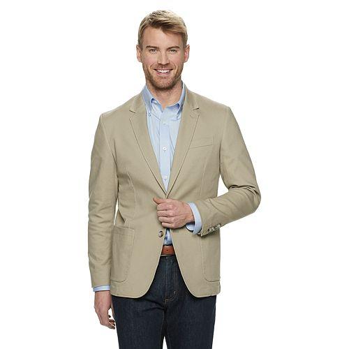 Men's SONOMA Goods for Life™ Garment-Washed Stretch Sport Coat