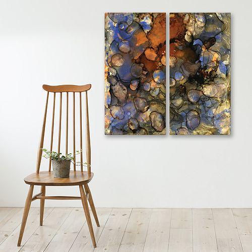 Artissimo Designs Beautiful Chaos 3 Wall Art 2-piece Set