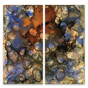 Artissimo Designs Beautiful Chaos 3 Wall Art 2-piece Set
