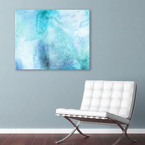 Artissimo Designs Aquamarine I Wall Art