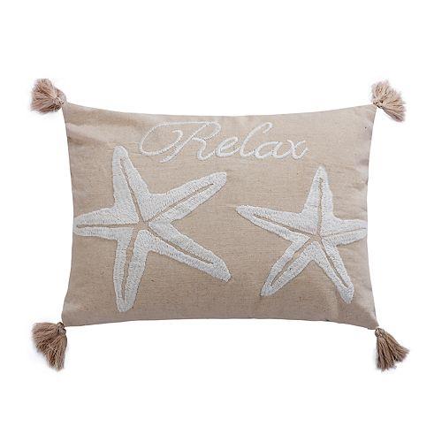 San Clemente Relax Throw Pillow