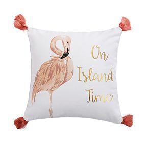 Coco Island On Island Time Throw Pillow