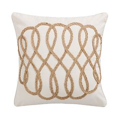 Capistrano Rope Lattice Throw Pillow