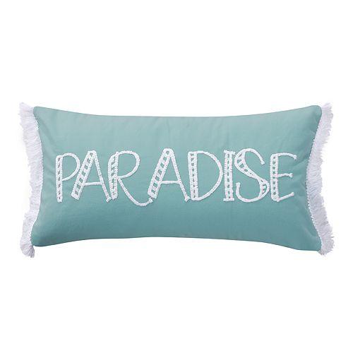 Monterey Paradise Throw Pillow