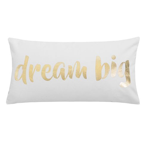 Tinsley Dream Big Throw Pillow