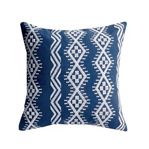 Dashell Embroidered Throw Pillow