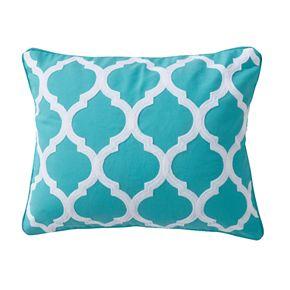Karolynna Lattice Throw Pillow