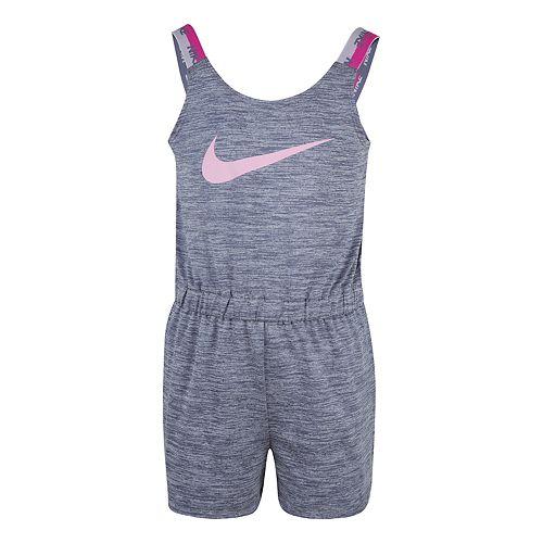Girls 4-6x Nike Graphic Dri-FIT Space-Dye Romper