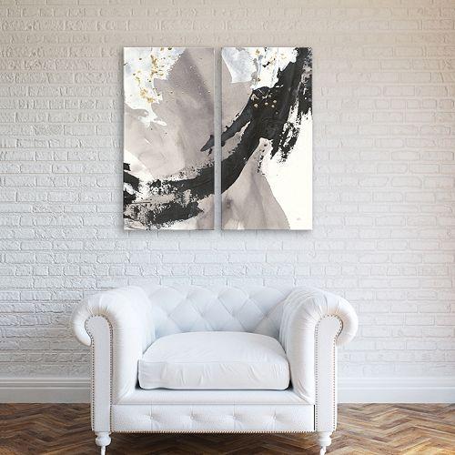 Artissimo Designs Galaxy II Diptych Wall Art 2-piece Set