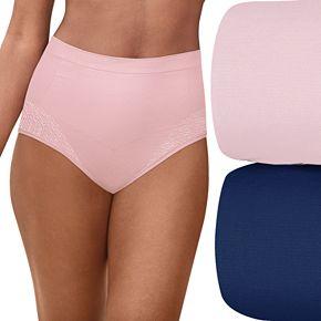 Women's Bali Comfort Revolution 2-Pack Firm Control Brief DF0048