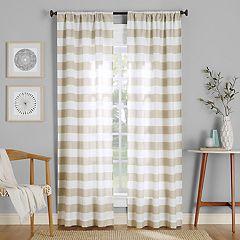 No. 918 Glendale Stripe Semi-Sheer Window Curtain