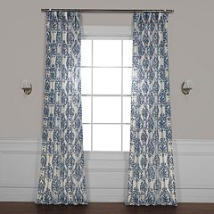 EFF Fresco Printed Sheer Window Curtain