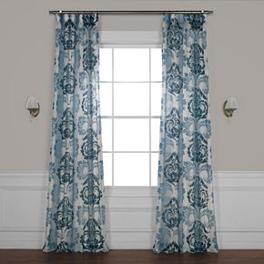EFF Damacus Printed Sheer Window Curtain