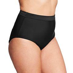 Plus Size Mazu Swim High Waist Brief Swim Bottoms