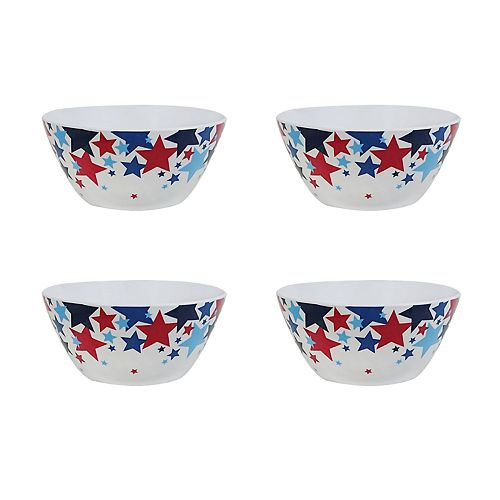 Celebrate Americana Together 4-pc. Cereal Bowl Set
