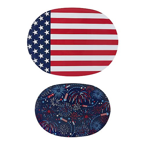 Celebrate Americana Together 2-pc. Serving Tray Set