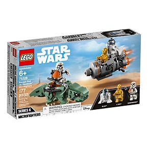 LEGO Star Wars Escape Pod vs. Dewback Microfighters 75228
