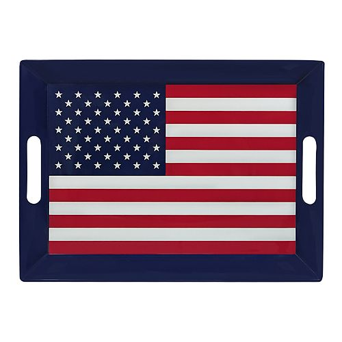 Celebrate Americana Together Serving Tray with Handles