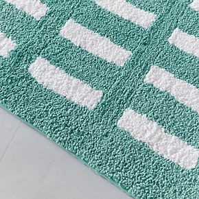 Madison Park Aster Reversible Tufted Bath Rug - 24'' x 60''