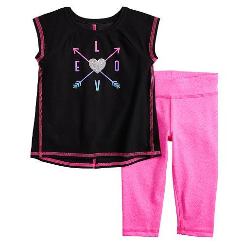 Toddler Girl Jumping Beans® Tank Top & Capris Active Set