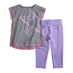 Toddler Girl Jumping Beans® Tank Top & Capris Active Set