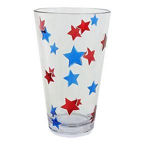 Celebrate Americana Together Embedded Star Acrylic Highball Glass
