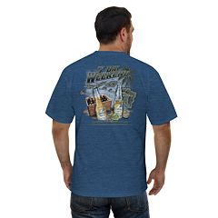 Big & Tall Newport Blue 7-Day Weekend Graphic Tee