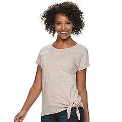 Women's SONOMA Goods for Life™ Side-Knot Dolman-Sleeve Tee