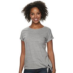 Women's SONOMA Goods for Life™ Side-Knot Dolman-Sleeve Tee