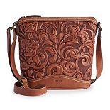 Concept Botanica Bembossed Crossbody Bag