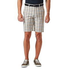 Big & Tall Haggar® Cool 18® Windowpane Performance Shorts