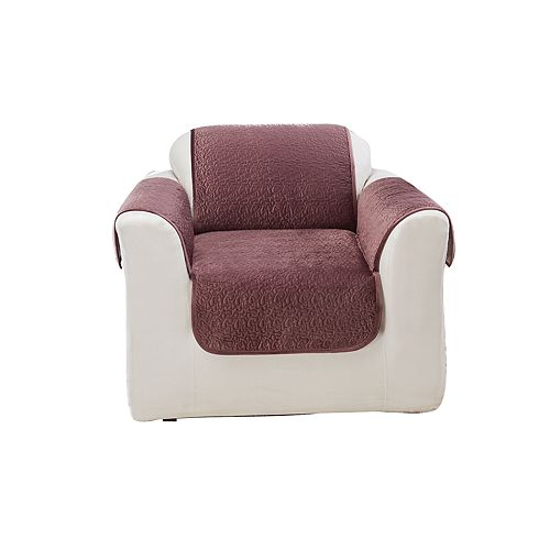 Sure Fit Elegant Vermicelli Chair Furniture Protector