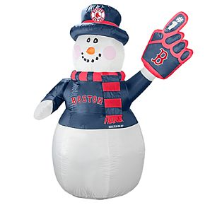 Boelter Boston Red Sox Inflatable Snowman