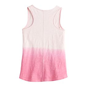 Girls 4-12 SONOMA Goods for Life? Flip-Sequin Sea Shell Tank Top