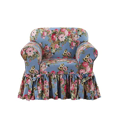 Sure Fit Juliet Relaxed Fit Box Seat Chair Slipcover