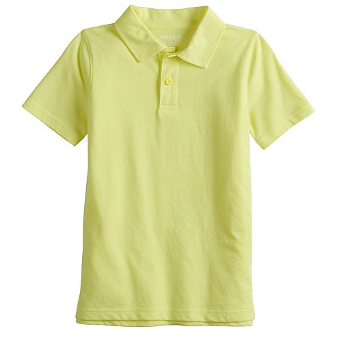 Boys 4-12 Jumping Beans® Solid Polo