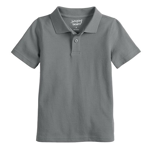 Boys 4-12 Jumping Beans® Pique Solid Polo