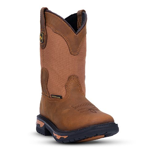 Dan Post Everest Boys' Waterproof Western Boots