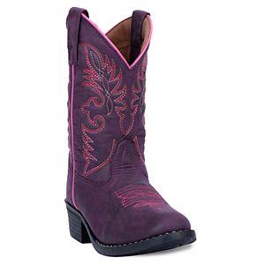 b79aff5a9f8395 Lil Durango Girls  10-in. Rhinestone Cowboy Boots