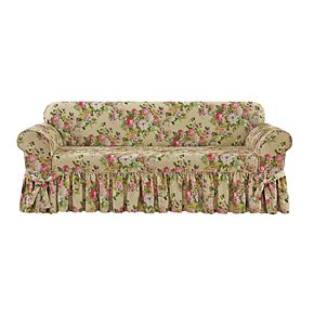 Sure Fit Juliet Relaxed Fit Box Seat Sofa Slipcover