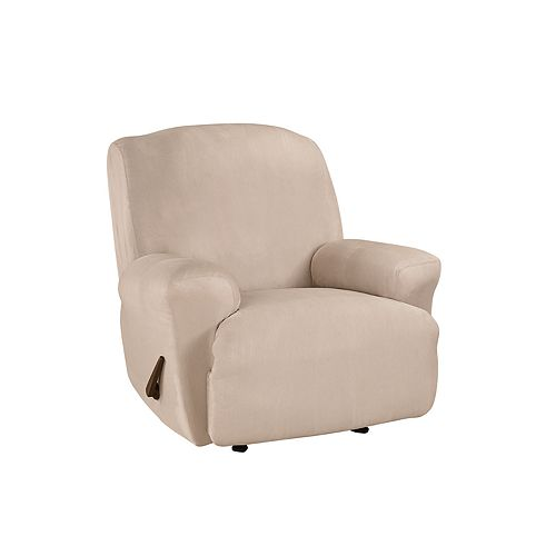 Sure Fit Ultimate Heavy Weight Suede Stretch Recliner Slipcover
