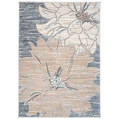 World Rug Gallery Large Floral Design Rug