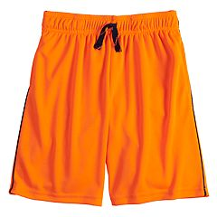 Boys 4-12 Jumping Beans® Mesh Side Striped Active Shorts