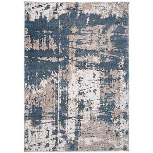 World Rug Gallery Distressed Abstract Rug