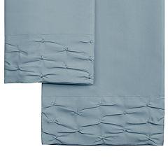 Hudson & Main Diamond Ruched Sheet Set
